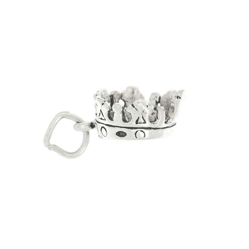 STERLING SILVER 3D KING