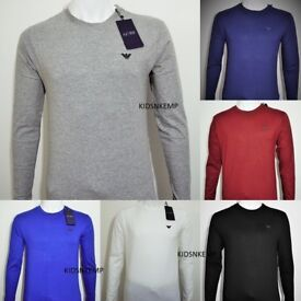 WHOLESALE & RETAIL - GOOD QUALITY MEN'S ARMANI JEANS T-SHIRT ( LONG SLEEVES )