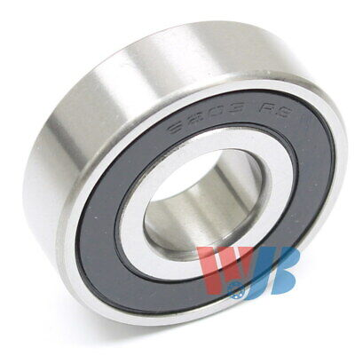 Radial Ball Bearing 6203-2rs-16mm With 2 Rubber Seals 16mm Bore 16x40x12mm