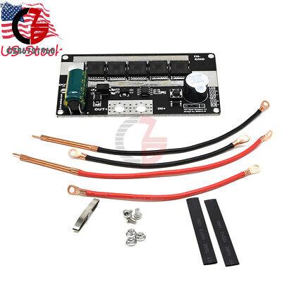 Dc 12v 18650 Battery Energy Storage Spot Welder Machine Circuit Board For Diy