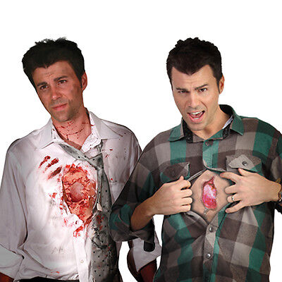 Digital Dudz I Wound Shows Beating Heart + Mobile Phone App Halloween Costume - Halloween App Costume