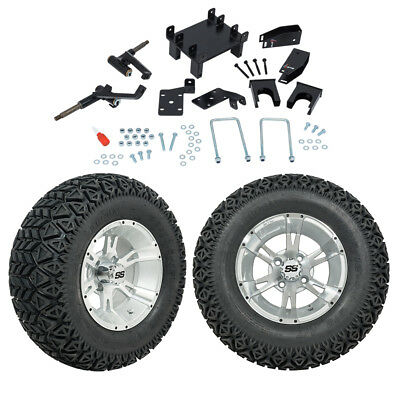 "GTW 6"" EZGO RXV Elect. Golf Cart Lift Kit W/ A/T Tires & 12"" Wheels Fits 2008-Up"