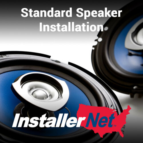 Car Standard Speaker Installation from InstallerNet - Lifetime Warranty
