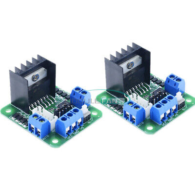 2pcs L298n Dual H Bridge Stepper Motor Driver Controller Module For Arduino