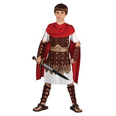 Römischer Gladiator Film Historisches Kinder Kostüm 3-13 Jahre