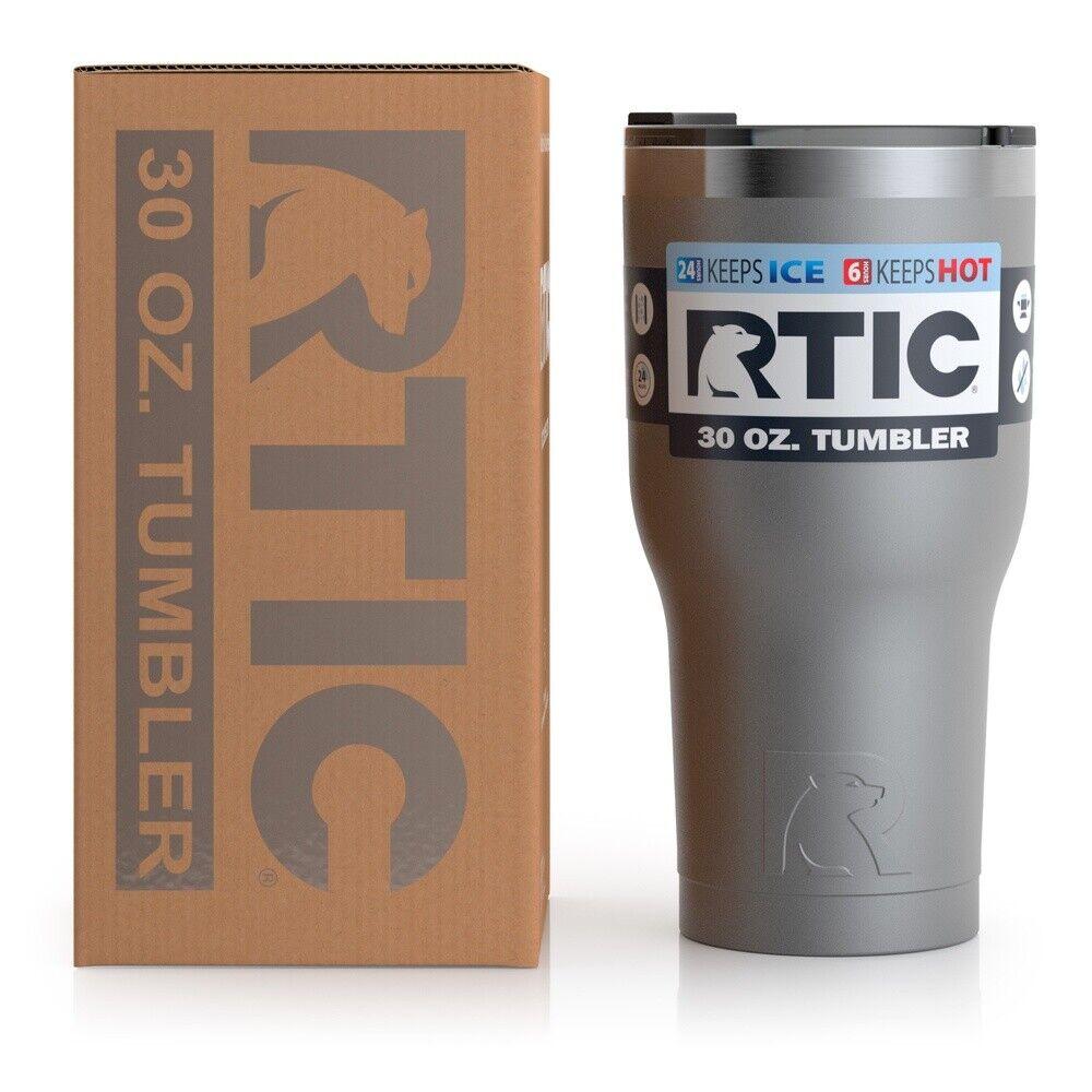 RTIC 30 oz Thermal Tumbler Stainless Steel Coffee Mug Travel