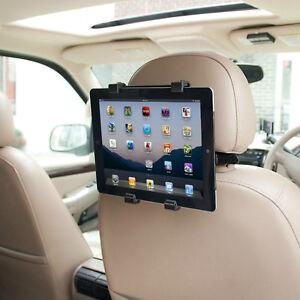 Universal Headrest Seat Car Holder Mount for iPad 1 2 3 4, Air & 10