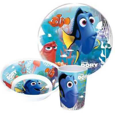 Kinder Frühstücksset Nemo & Dory Melamin Kindergeschirr Disney Geschenkidee