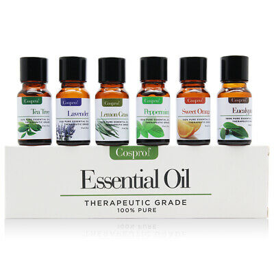 10 Ml Sampler - Essential Oil Gift Set Sampler Kit 6 - 10 ml 100% Pure Therapeutic Grade Lot