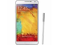 Samsung Note 3 , Unlocked to all network . Used .