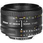 Nikon 1 NIKKOR Camera Lenses for Nikon AF 50mm Focal