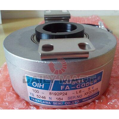 Tamagawa Ts5246n164 Oih100-8192p24-l6-5v Resolver Elevator Encoder New