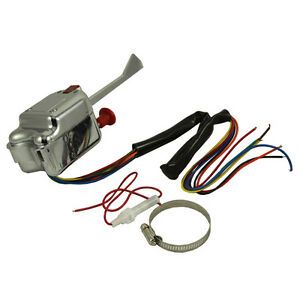Universal-Street-Hot-Rod-Chrome-Turn-Signal-Switch-For-BUICK-FORD-GM-12V