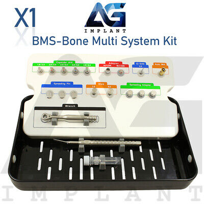 Bms Bone Multi System Kit Spread Ridge Split Drill Tool Surgical Dental Implant