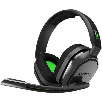 Logitech Astro A10 Gaming Wired Stereo Headset for Xbox One Overcast/Green