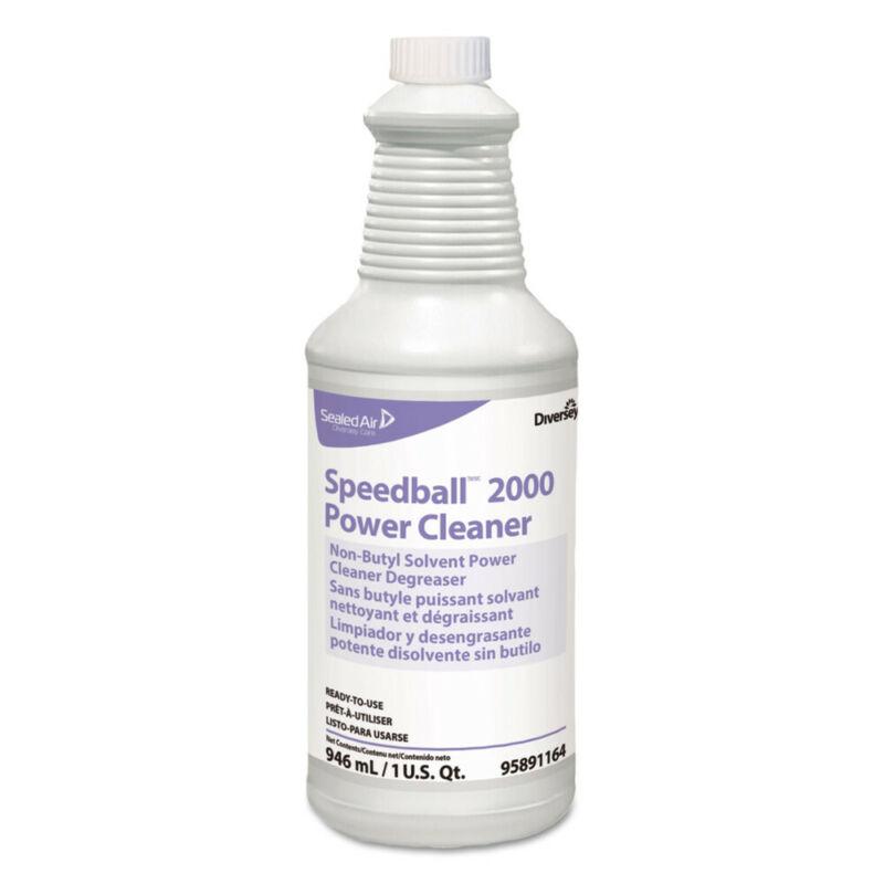 Diversey Speedball 2000 Heavy-Duty Cleaner, Citrus, Liquid, 1qt. Spray Bottle, 1