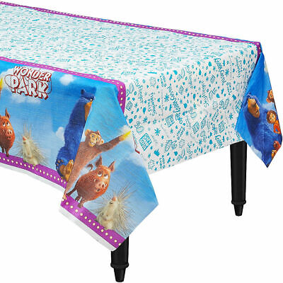 Wonder Park Paper Table Cover Kids Birthday Party Supplies ~ Table cloth Decor