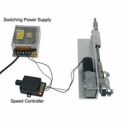 Diy Reciprocating Motor 12v 24v Stroke 70mm Switching Power Supply Controller