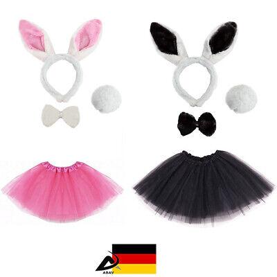 Osterhase Kostüm Damen Hase Verkleiden Fasching Karneval Ostern Kostüm 4 - Oster Kostüm