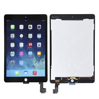 For iPad Air 2 A1566 A1567 LCD Display + Touch Screen Digitizer Assembly Repair ()