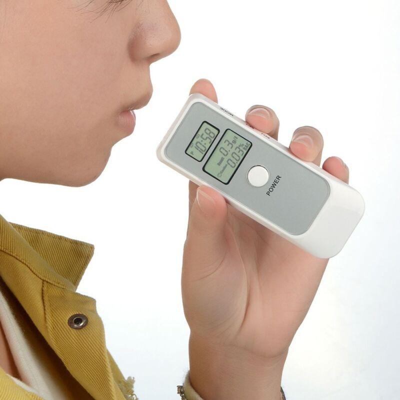 Dual Alcohol Tester Dual LCD Display Digital Breathalyzer Cl