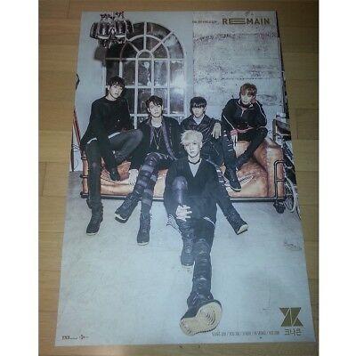 KNK - Remain [OFFICIAL] folded poster  eldo
