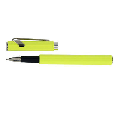 Caran d'Ache 849 Fountn Pen Yellow Fluo Nib F
