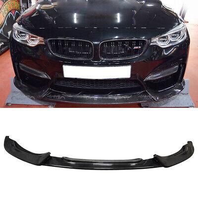 Fits For BMW F80 M3 F82 F83 M4 2015-2020 Front Bumper Lip Spoiler Carbon Fiber