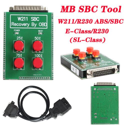 SBC Reset Tool W211/R230 ABS/SBC Tool For MB Repair Fault Code C249F
