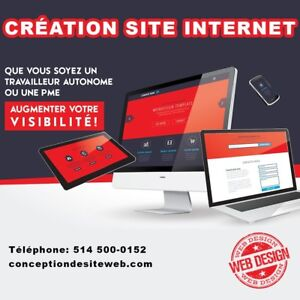 Website Design, conception de site web, Création site web