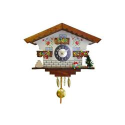 Engstler Battery-operated Clock - Mini Size with Music/Chimes - 5.75H x 7W...