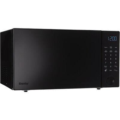 Danby 1.1 cu. ft. 1000 Watt Countertop Microwave Oven in Black