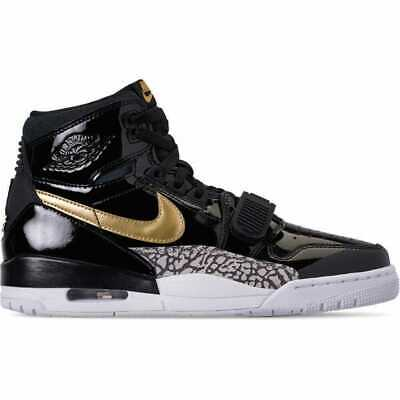 c74fd235c6f NIB Mens Sz 14 AIR JORDAN LEGACY 312 BLACK GOLD WHITE AV3922 007 SHOES MSRP  $150