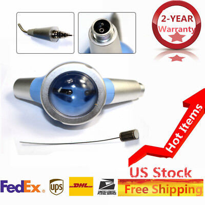 2 Hole Dental Air Polisher Teeth Polisher Handpiece Hygiene Prophy Jet Us Stock