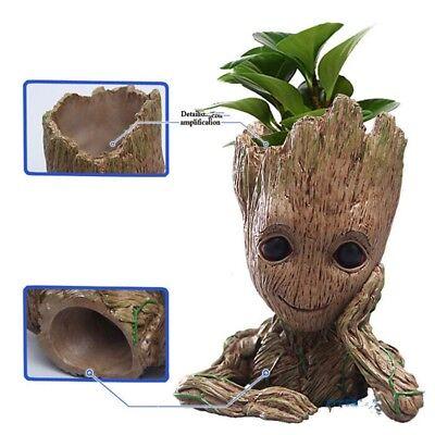 Guardians Of The Galaxy Vol  2 Baby Groot Flowerpot Pen Pot Figure Gift Toy Us