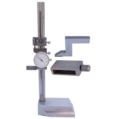 8 Dial Height Gage .001 Grad Gauge Shockproof 8 X 0.0001 Dial Height Gage