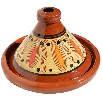 Tajine marokkanische Stil tajine mit deckel pyramidenförmigen ton feuerfest 30cm