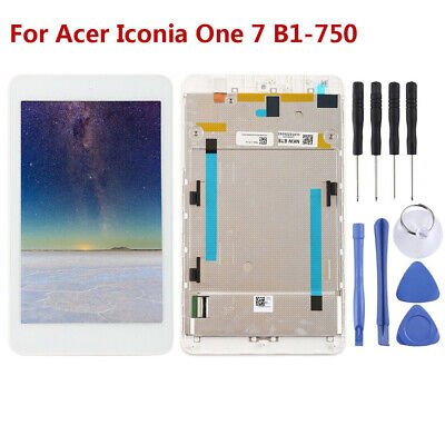 For Acer Iconia One 7 B1-750 LCD Display Touch Screen Digitizer Frame Tools RHN