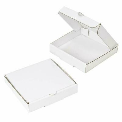 9 inch WHITE Pizza Boxes, Takeaway Pizza Box, Strong Quality Postal Boxes - 1pc