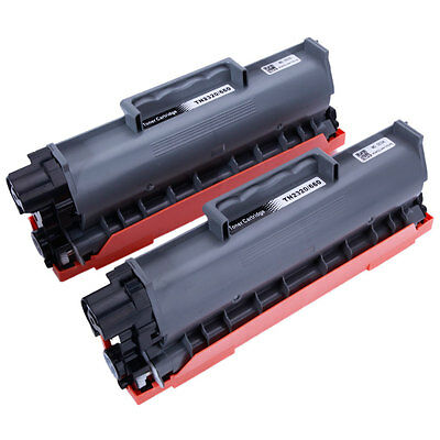 2PK TN660 TN630 Toner Cartridge for Brother HL-L2320D HL-L2340DW HL-L2380DW