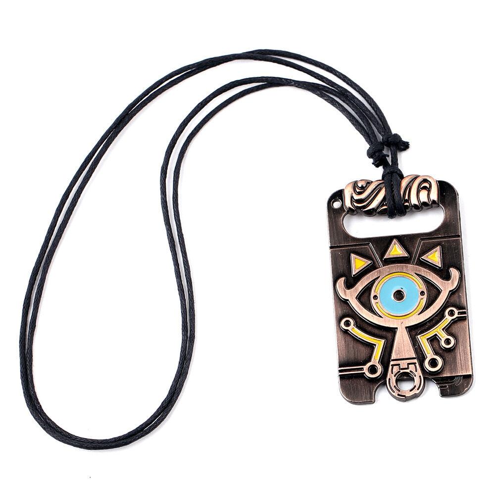 Breath of the Wild Logo Necklace Legend of Zelda Pendant