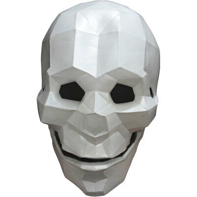 Adult Low Poly Skull Geometric Mask