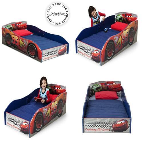 Delta Children Disney Pixar Cars TODDLER BED, High Sides Woo