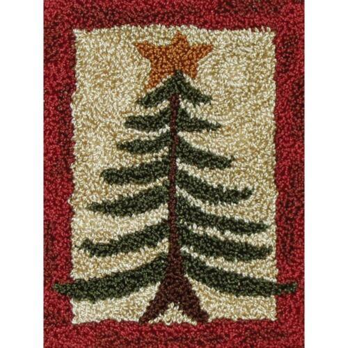 Pine Tree  Punch Needle Kit