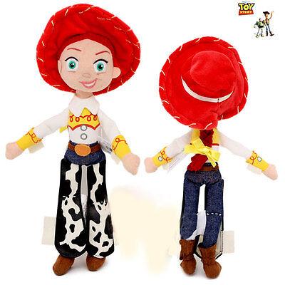Disney Store Toy Story Jessie Plush Bean Bag Doll 11″ Soft Cow Girl Gift Child