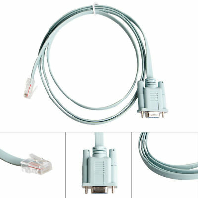 Console Cable DB9 to RJ45 6 Ft for Cisco Router Switch Line...