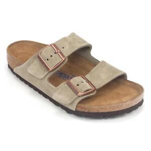 edfa55da554 Birkenstock Arizona Regular Soft Footbed Suede Sandals Taupe EU 40 US W9  M7. About this product. Stock photo  Picture 1 of 2  Picture 2 of 2. Stock  photo
