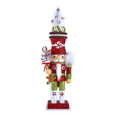 "[Kurt Adler Hollywood Nutcracker - Candy Soldier Christmas Nutcracker 13.5""- NEW</Title]"