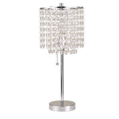 20.25 Decorative Glam Table Lamp with Drum Shade
