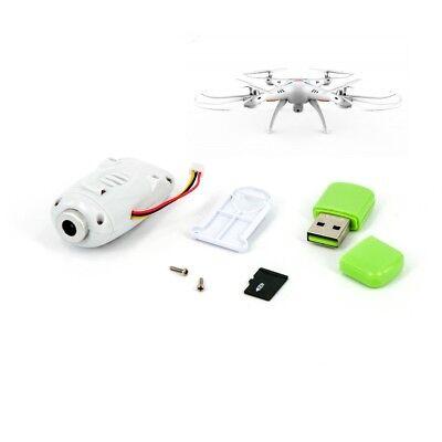 Kamera für SYMA X5SC Quadrocopter weiß mit SD Karte